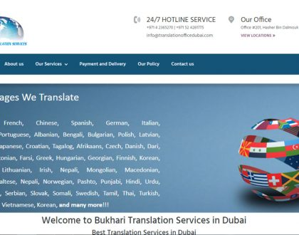 Bukhari Translation Services